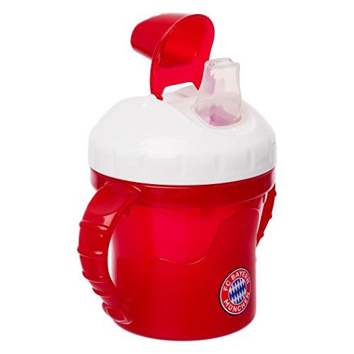 FC Bayern München Baby Trinklernbecher, Tasse, Trinkbecher FCB - Plus Gratis Aufkleber Forever München