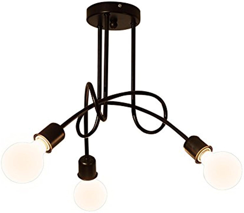 MEIHOME Deckenleuchten Moderne D70H40 CM5 Kopf Deckenlampe für Schlafzimmer Wohnzimmer Küche Badezimmer