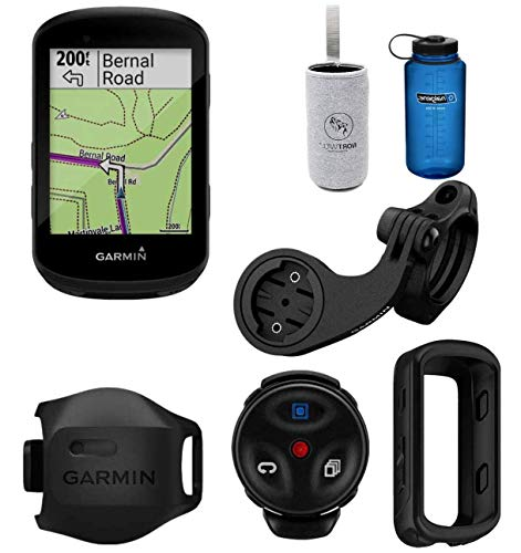 Nortwill - Garmin Edge 830 Performance Cycle GPS Bundle, Bike Computer with Mapping, Dynamic Performance Monitoring and Popularity Routing - Garmin Silicone case (GPS Mountain Bike Bundle)