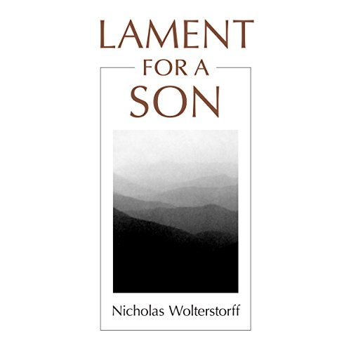 Lament for a Son audiobook cover art
