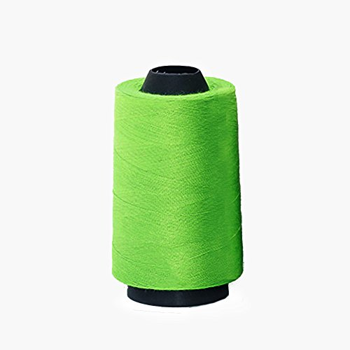 Naaien draad 3000 werven hand naaien benodigdheden Polyester Craft Cross-Stitch naaimachine patch breien (zwart) Mint Groen