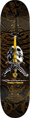 Powell Tabla Skull & Sword Brown 9.0