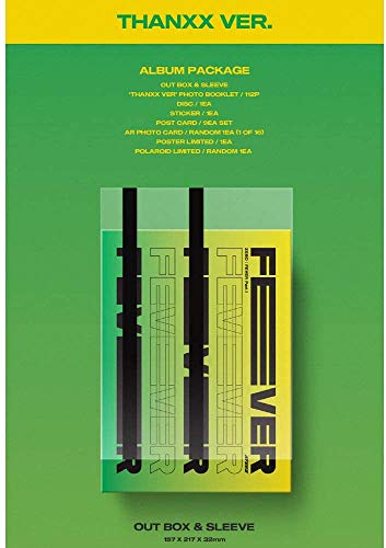 KQ Entertainment ATEEZ Zero: Fever Part.1 Album + Folded Poster + Extra-Fotocards Set Thanxx Ver.