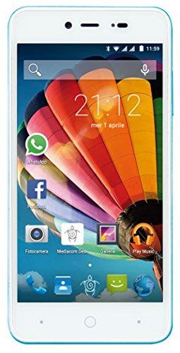 Mediacom PhonePad Duo G515 Smartphone da 8 GB, Dual-SIM, Blu