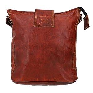 41Smpgo2blL. SS300  - Gusti Leder - Bolso Bandolera de Piel para Mujer, Color marrón