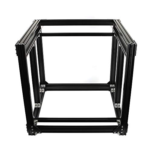 HUANRUOBAIHUO Aluminium Noir 2040 Profil Extrusion BLV MGN Cube Kit de Cadre for Le Bricolage CR10 3D imprimante Z Hauteur 365mm Pièces d'imprimante 3D