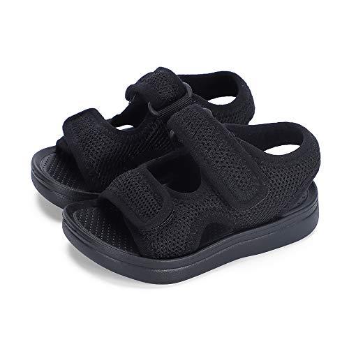 MK MATT KEELY Unisex-Kinder Sommer Sandalen Mädchen Jungen Einfarbig rutschfest Lauflernschuhe Schuhe für Trekking Outdoor Strand EU 21-35