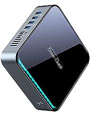 DreamQuest ミニPC Celeron J4125 8G/128G Windows 10 Pro MiniデスクトップPC 、HDR4K、2.4G+5GデュアルWi-Fi & Bluetooth 4.2 & USB 3.0に対応、日常業務およびビジネス向けのスモールデスクトップコンピューター小型 mini PC
