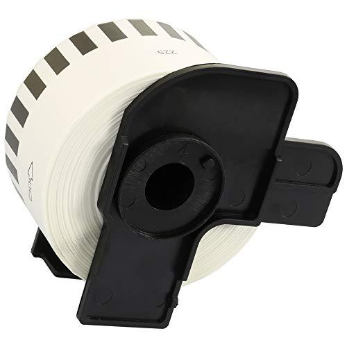 DK22225 38mm x 30.48m Etiquetas continuas Compatible con Brother P-Touch QL-500 QL-550 QL-560 QL-570 QL-700 QL-710W QL-720NW QL-800 QL-810W QL-820NWB QL-1050 QL-1100 QL-1110NWB