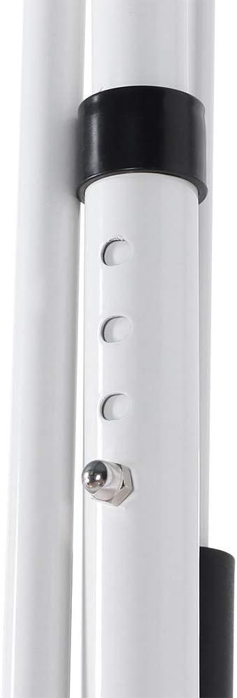 3x1.2m Toldo con Abrazadera Toldo para balc/ón Altura Ajustable Resistente a los Rayos UV con manivela para Puerta Exterior Ventana Techo de protecci/ón Solar Impermeable Raya Azul + Blanca