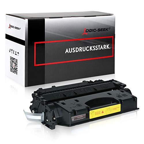 Logic-Seek Toner kompatibel zu HP CE505X 505X Laserjet P 2053 2054 2055 2056 2057 D DN X