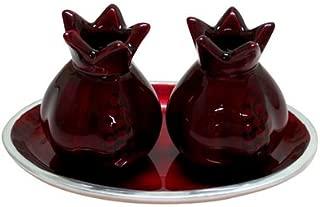 pomegranate candle holder
