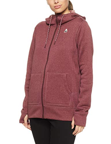 Burton Damen Fleecejacke W Oak FZ, Größe:L, Farben:Port royal Heather