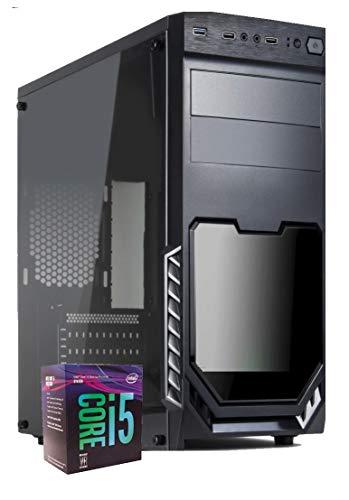 PC Desktop Office Fast Intel Core i5 9400 Up 4,10 GHZ/Grafica Intel UHD 630/ Ram 8GB DDR4/ SSD 240 GB/Wi-Fi Usb 3.0 Hdmi/Licenza Windows 10 Pro Esd/Computer Per Ufficio Casa Completo