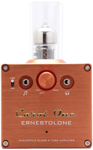 Carot One USB-DAC内蔵真空管ハイブリッド・プリメインアンプ ERNESTOLONE
