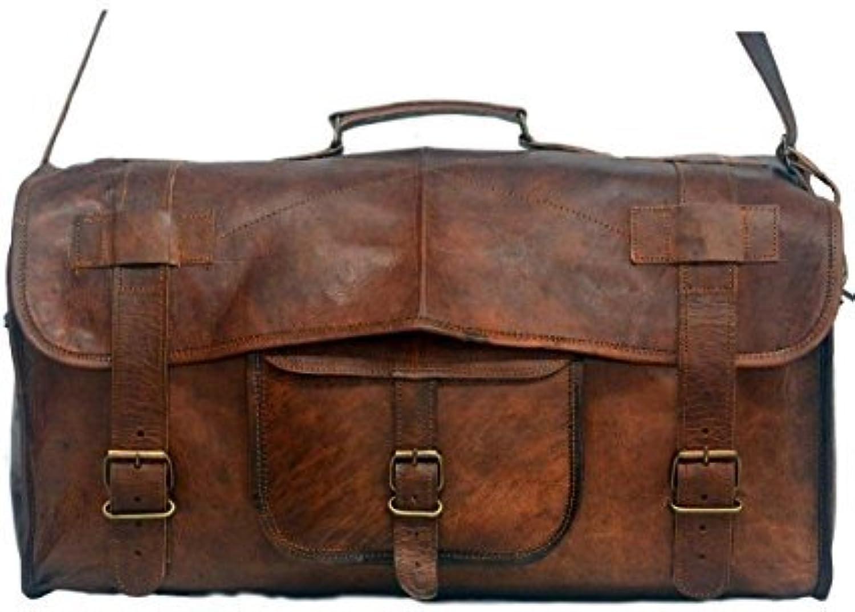 BROCODE Vintage gym Travel Bag for Men and for Women 20 10 9