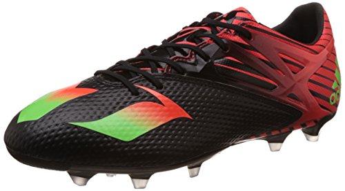adidas Herren Messi 15.2 FG AF4658 Fußballschuhe, Schwarz (Core Black/Solar Green/Solar Red), 40 EU
