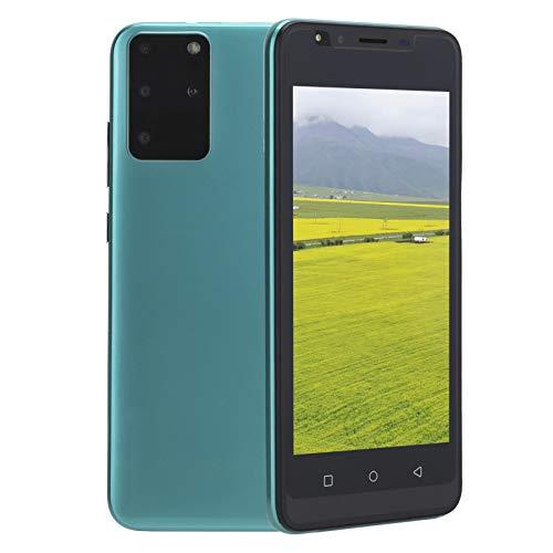 Teléfono Móvil Libres Baratos 3G, Android Celulares Desbloqueados Smartphone Libre, Pantalla HD de 5.0 Pulgadas, 512MB RAM y 4GB ROM, Face ID, WIFI, GPS [Clase de eficiencia energética A+++](Verde)