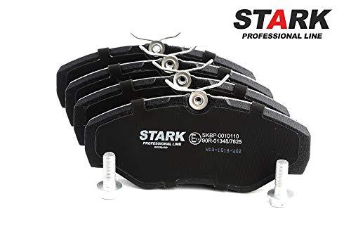 Preisvergleich Produktbild STARK SKBP-0010110 Bremsbelagsatz,  Scheibenbremse Scheibenbremsbelage,  Bremssteine,  Bremsklötze Vorne