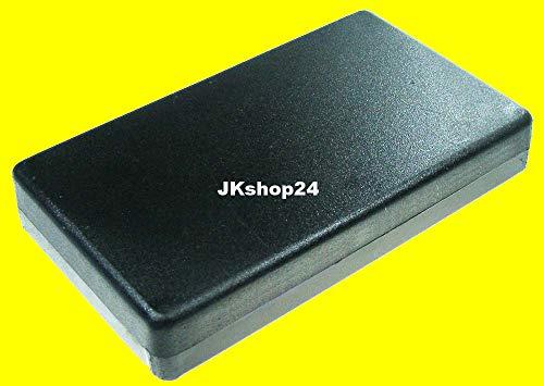 Kunststoff-Gehäuse flach 120 x 70 x 20 mm Plastic-Case Flachgehäuse Kunststoff-Leergehäuse universal für Einbau von Elektronik, LED, Tool, Platinen, Lautsprecher etc.