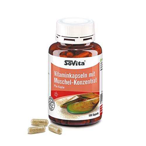 Vitaminkapseln mit Muschel-Konzentrat