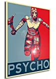 Instabuy Poster - Propaganda - Borderlands - Psycho B A4