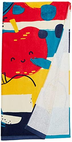 Tuc Tuc Toalla Detox Time Salida de baño, Azul, U para Niños