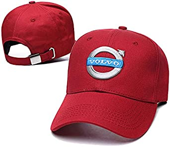 Yoursport Fit Volvo Baseball Cap Car Logo Embroidered Unisex Adjustable Hat Travel Cap for Man Women Car Accessories
