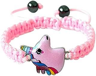 Pink cute gift bracelet kids child babies girls dress Jewelry accessories toys style unicon bracelet