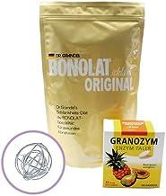 ボノラート 600g & グラノザイムセット 無添加 乳プロテイン 酵素タブレットシェイクボール付き】