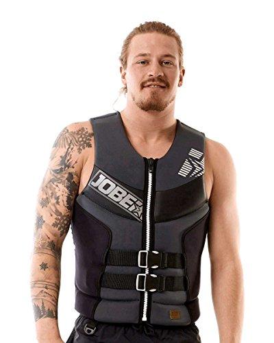 Jobe Segmented Jet Giubbotto di salvataggio da uomo, colore nero, con supporto per schiena, S