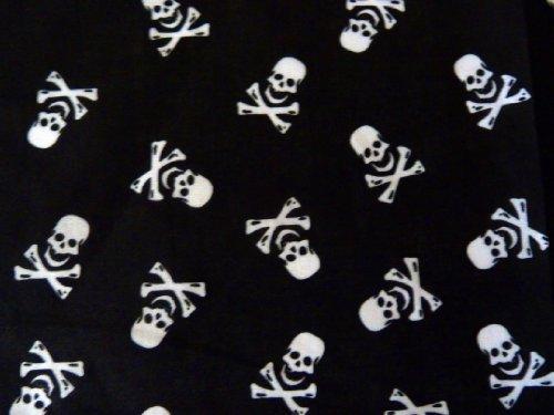 Punkrock Bandana O8-2 Bandana foulard pour cou 54 x 54 cm
