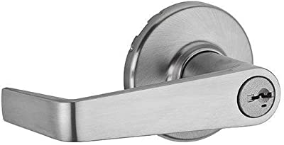 Kwikset 781KNL 26D SMT RCAL RCS Kingston Satin Chrome Storeroom Entry Lever Featuring SmartKey