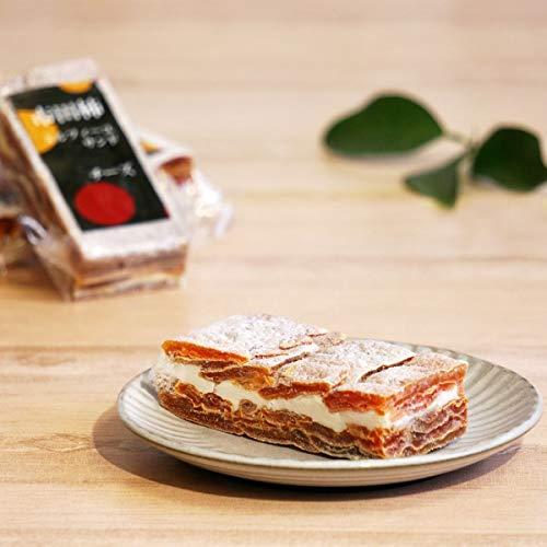 南信州ここだに 市田柿 ミルフィーユ サンド 干し柿 いちだがき 冷凍 スイーツ ( チーズ )
