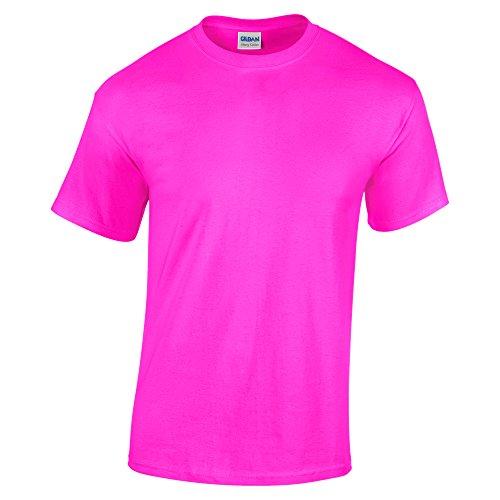 Gildan T-shirt classique pour homme - Rose - Taille M