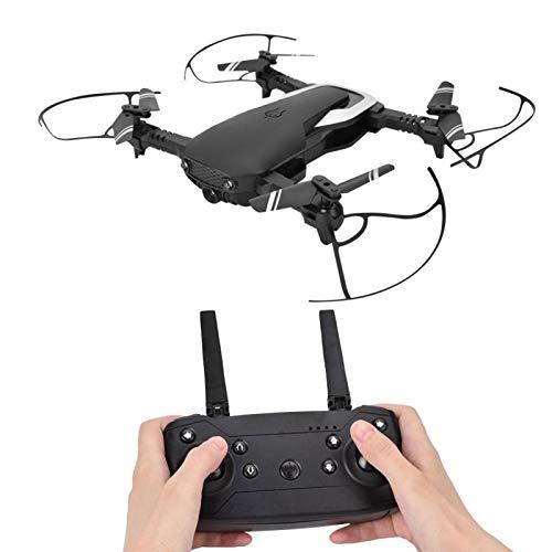 DAUERHAFT Quadcopter RC Plegable para fotografía con Sistemas de Control de Vuelo de 6 Ejes(Black)
