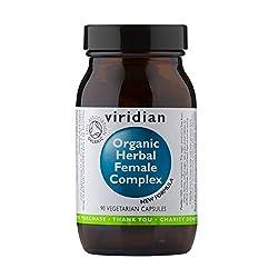 Viridian Organic Herbal Female Complex 90 vegi caps