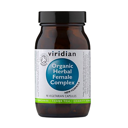 Viridian Organic Herbal Female Complex 90 vegi caps