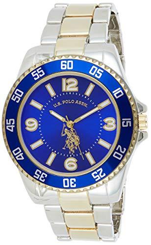 U.S. Polo Assn. Reloj analógico para Hombres de Cuarzo con Correa en Aleación USC80514