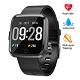 beitony Fitness Tracker, Smart Bracele Smart Watch Waterproof Pedometer Activity Tracker with Heart Rate Monitor, Blood Pressure Blood Oxygen Monitor for Men, Women and Kids
