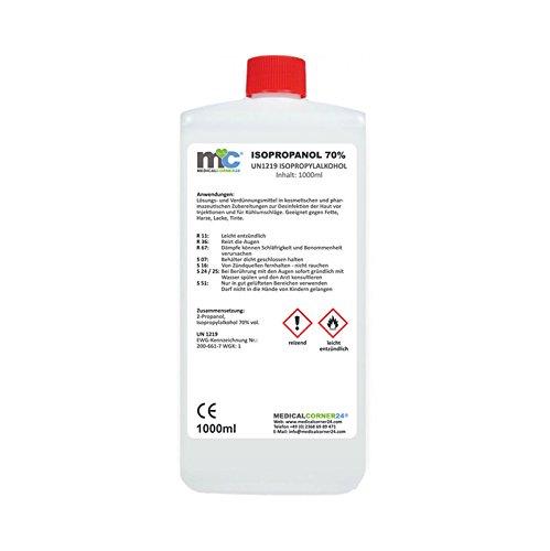 Medicalcorner24© 1 Liter Isopropanol 70%