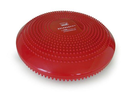 Sissel 162030, Disco Multifunzione per Allenamento Unisex – Adulto, Rosso, 34 x 34 x 9 cm