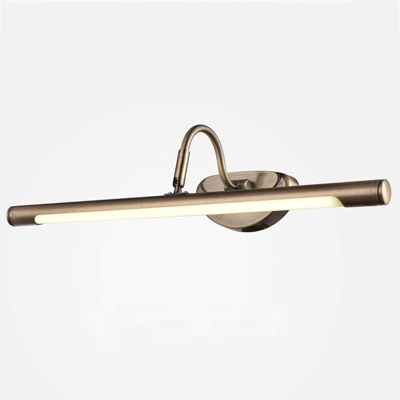 Spiegel Lampen Spiegel Vordere Scheinwerfer, LED-Spiegel Schaltschrankleuchten Badezimmer Badezimmer Spiegel Licht Schminktisch Lampe Spiegel Lampen Badezimmer Lampen (Farbe  Wei-10 w 62