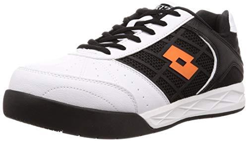 [ロットワークス] LW-S7002 JSAA A種認定 プロテクティブスニーカー 安全靴 作業靴 鋼鉄製先芯 幅広(EEE) メンズ ホワイト 26.5 cm 3E