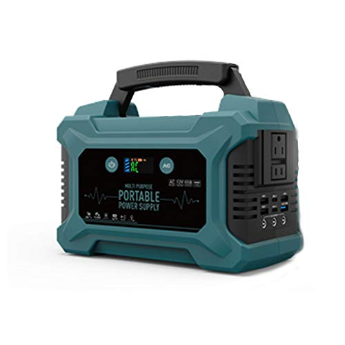 TIM-LI 200W - 60000Mah Tragbarer Generator Wiederaufladbare Lithiumbatterie - Notstromversorgung Mit LED-Taschenlampen-Powerbank Für CPAP Backup Camping