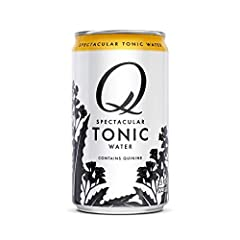 Q Mixers Tonic Water has sharp flavor and high carbonation and complements great spirits rather than overpowering them Made with real ingredients like Quinine from Peru and Organic Agave No artificial flavors, no High Fructose Corn Syrup More carbona...