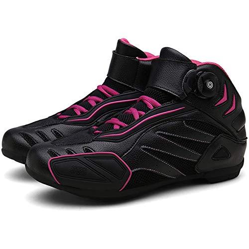 BHHT Zapatos De Ciclismo De Carretera Moda para Hombre, Bicicleta De Carretera, Zapatillas De Bicicleta Ultraligeras con Bloqueo Automático, Zapatos De Montar Profesionales Transpirables