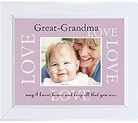 The Grandparent Gift Great Grandma Photo Frame [並行輸入品]