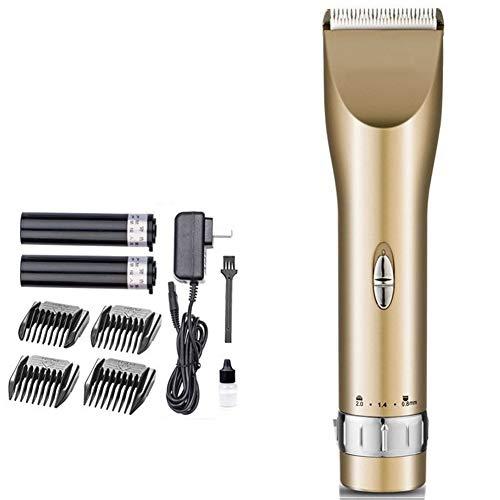 LJG SHOP Autozubehör Elektrischer Haircut Fader |Keramik Blatt Erwachsene Kinder Friseurwerkzeugpaket |Mute Cordless Akku Haarschneidewerkzeug