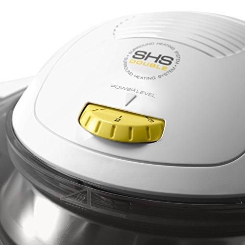 DeLonghi FH 1363/1 Multifry Heißluftfritteuse (1400 Watt, SHS Double) schwarz - 5
